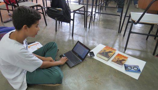 Projetos dos estudantes do Colégio Viver