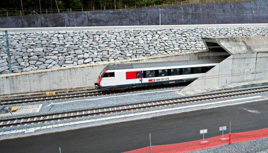 Túnel ferroviário mais longo do mundo