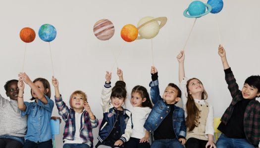 Leitura sobre astronomia